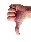 Thumbs Down 605479