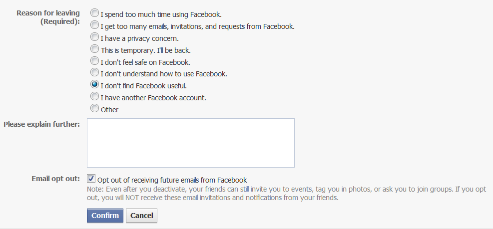 If You Deactivate Your Facebook What Happens