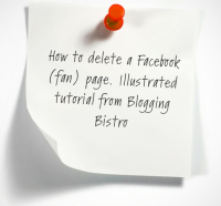 Illustrated tutorial: How to delete a Facebook brand/fan page