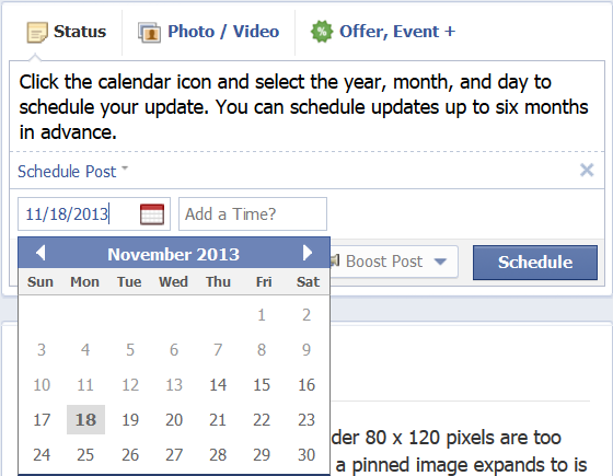 Facebook Scheduler Tool 2