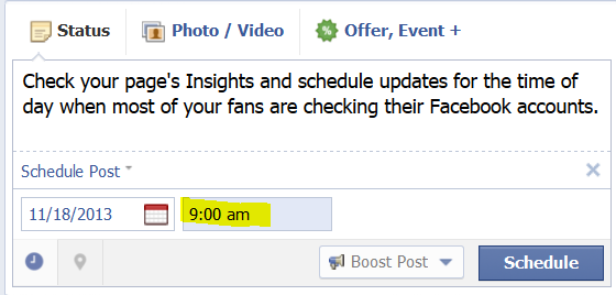 Facebook Scheduler Tool 3