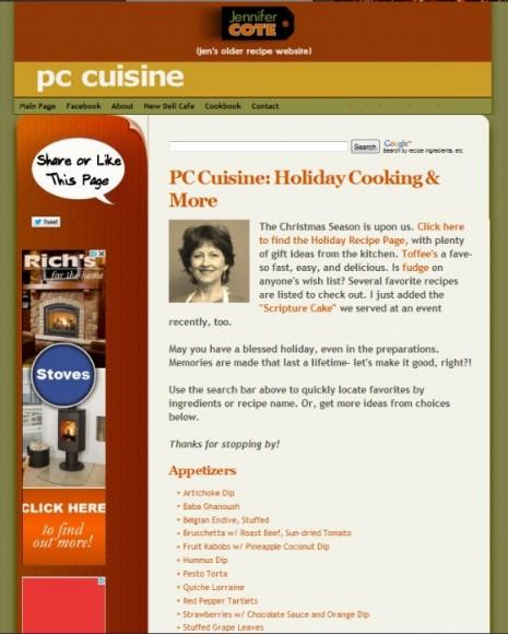 PCcuisine.com BEFORE580