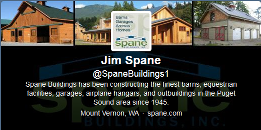 Twitter cover photo for Spane Buildings in Mount Vernon, WA