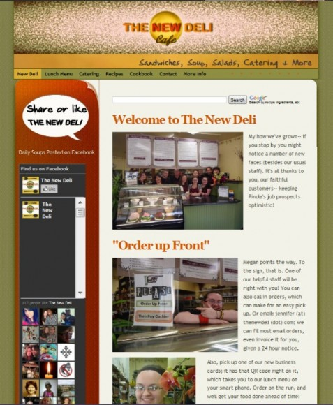 TheNewDeli.com BEFORE 580