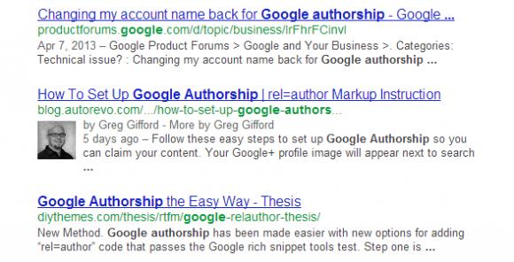 Google Authorship 1