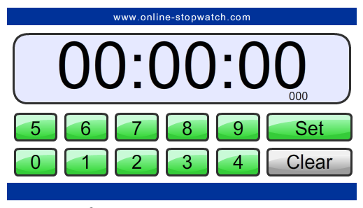 Online-Stopwatch.com Countdown Timer