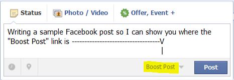 Boost Post