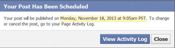 Facebook Scheduler Tool 4