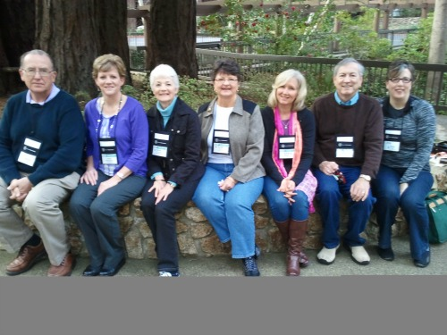 Authors published by Harvest House at the Mount Hermon Christian Writers' Conference 2013: Patrick Craig, Laura Christianson, Karen O'Connor, Kay Roper, Susan Meissner, Nick Harrison, and Susy Flory.