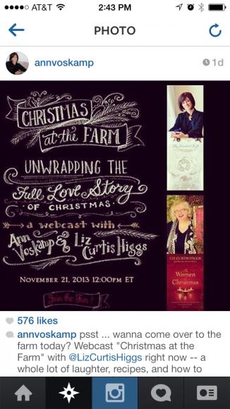 author event promo instagram