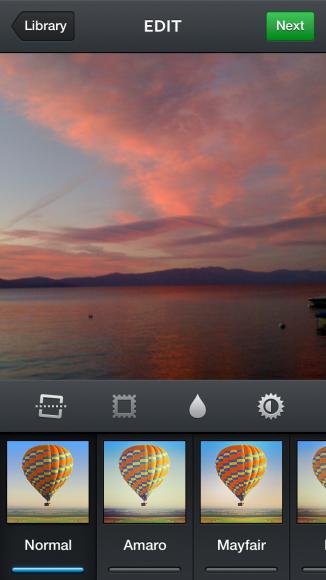 instagram sunset no filter