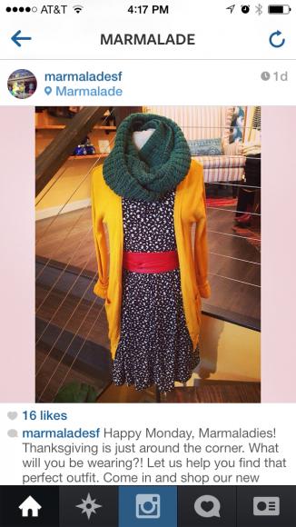 clothing boutique instagram