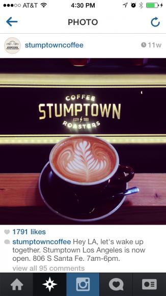 cafe instagram
