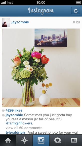 Instagram 3.5 - Feed