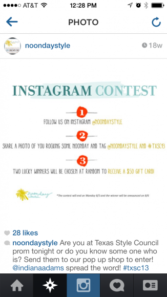 noonday style instagram contest 1