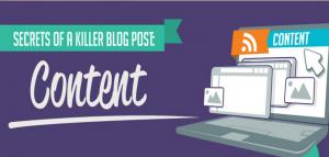 Secrets of a killer blog post #infographic via BloggingBistro.com
