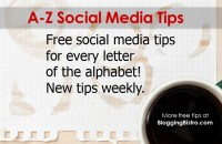 A-Z social media tips cover
