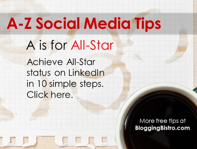 A-Z social media tips from BloggingBistro.com - A