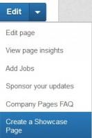 Create Showcase Page
