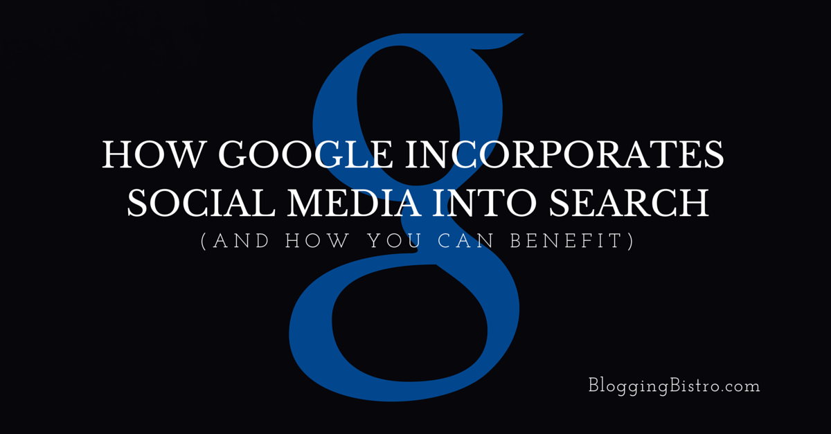 How Google Incorporates Social Media into Search Results
