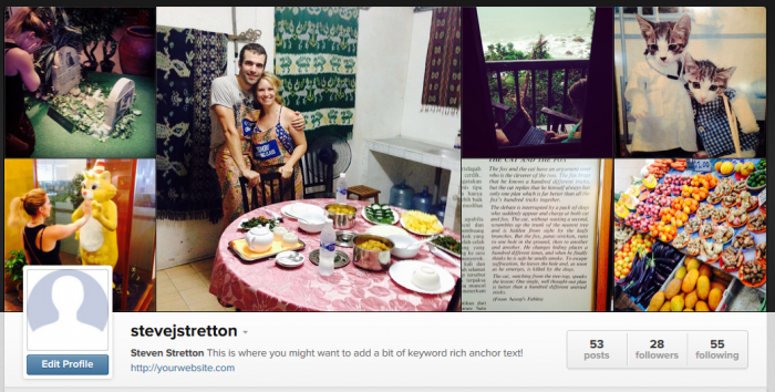 How Instagram is displayed in Google Search Results