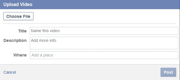 How to dispay a Featured Video on your Facebook page 2