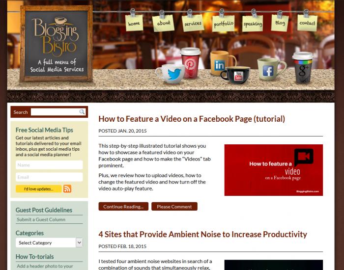 Sample Sticky Post on a WordPress blog