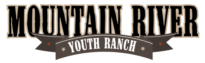 Mountain River Youth Ranch Banner Design, Color Version
