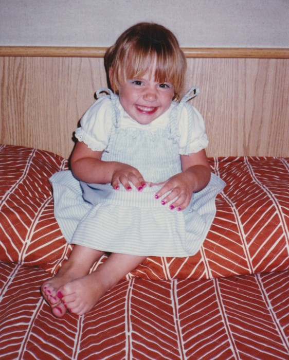 Angela Welsh, age 3