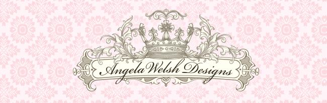 Angela Welsh Designs - logo and newsletter header
