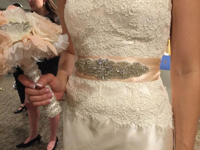 Custom bridal accessories by Angela Welsh Designs