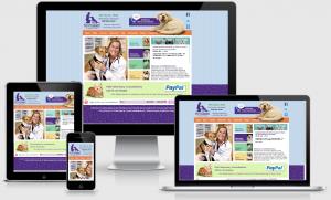 VetPetConnect.com | Custom, responsive WordPress website for Dr. Teri Byrd, created by BloggingBistro.com