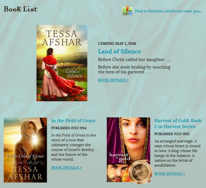 TessaAfshar.com   Custom, responsive design WordPress website   Built by BloggingBistro.com