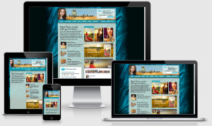 TessaAfshar.com | Custom, responsive design WordPress site created by Blogging Bistro