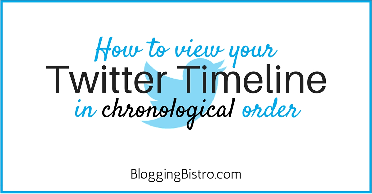 chrinological