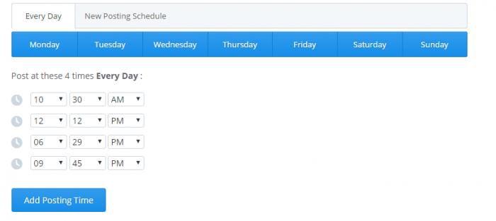 Buffer scheduling tool | BloggingBistro.com