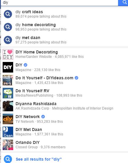 Facebook Groups search | BloggingBistro.com