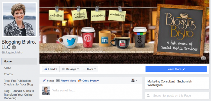 Facebook Page Layout Changes – 7 Areas You Need to Update | BloggingBistro.com