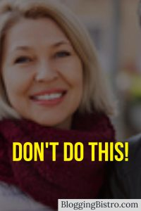 What NOT to do on your social media profile image   BloggingBistro.com