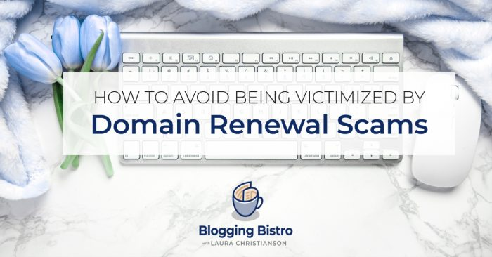 How to avoid being victimized by domain renewal scams