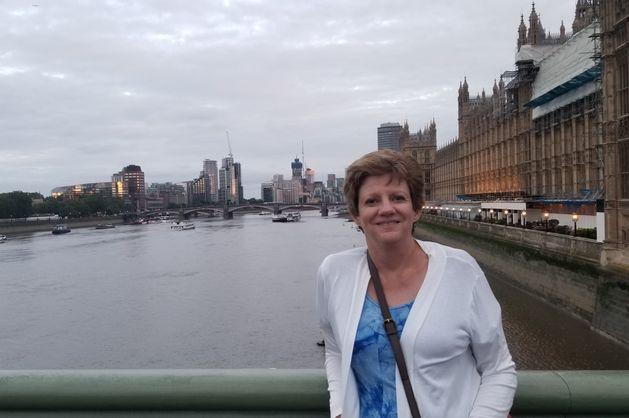Laura Christianson in London   BloggingBistro.com