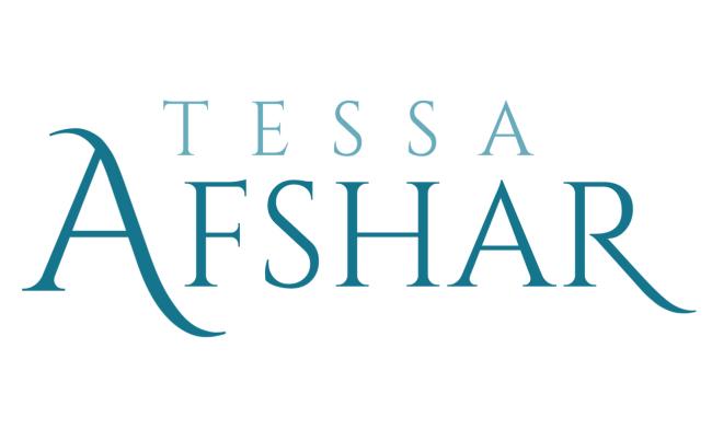 Tessa Afshar Logo | created by the team at BloggingBistro.com