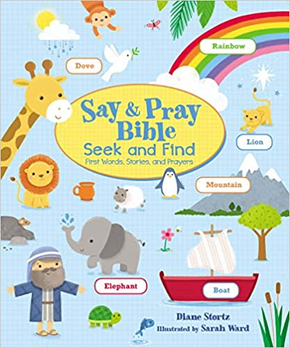 Say & Pray Bible Seek and Find by Diane Stortz