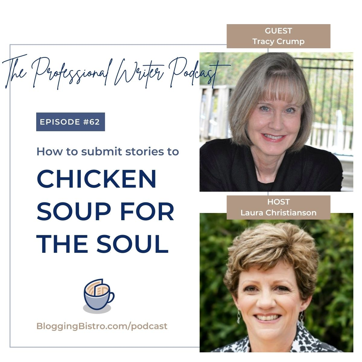62 – How to Submit Stories to Chicken Soup for the Soul Anthologies, with Tracy Crump