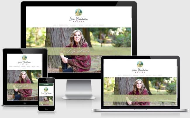 Lisa Baldwin Website   Created by the team at BloggingBistro.com