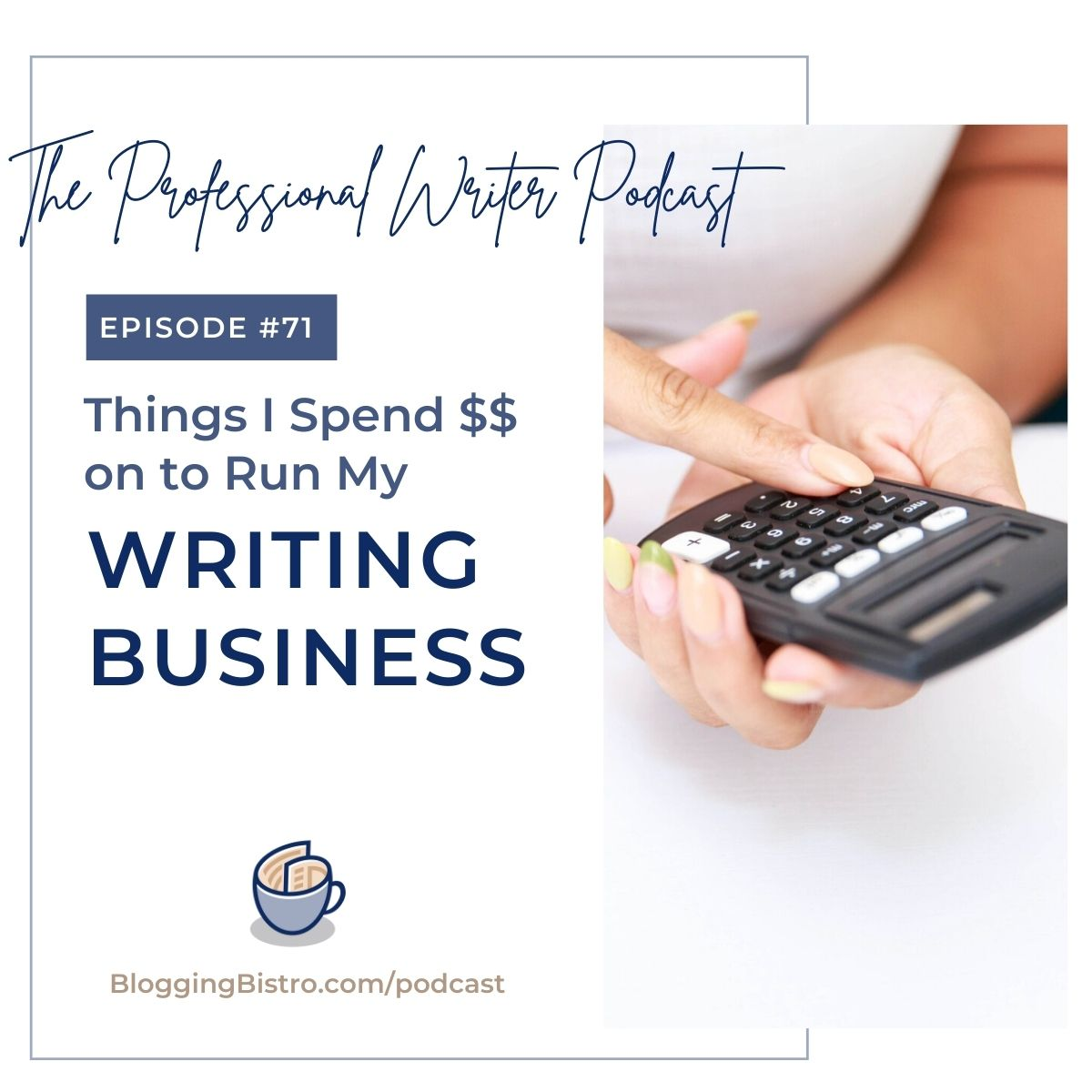Things I spend money on to run my writing-related business